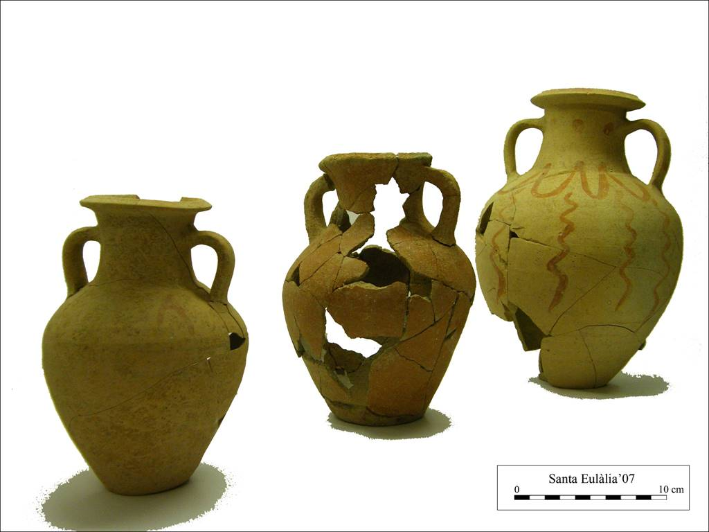 An outstanding ceramic collection found inside Santa Eulàlia's church  in Alaior
